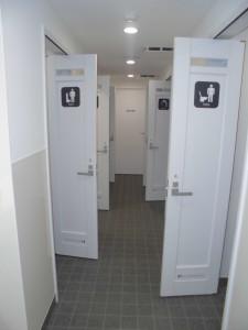 男性更衣室(2階)