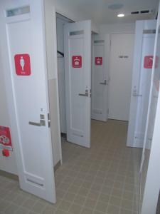 女性更衣室(2階)