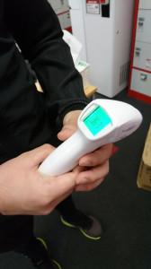 体温測定(スタッフ・会員様)