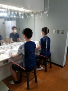 洗面台も安心安全の取り組み導入!