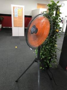 大型扇風機設置