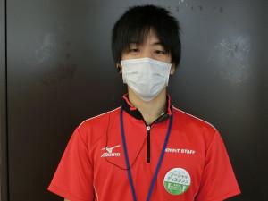 スタッフ、会員様マスク着用
