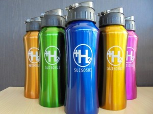 話題の水素水
