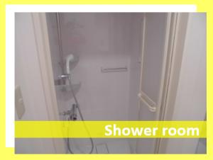 完全個室のシャワールーム