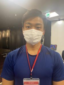 マスク着用の徹底