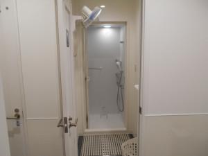 完全個室シャワー完備