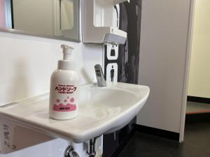 手洗いによる消毒