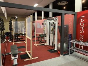 女性専用トレーニングスペース