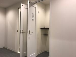 24時間対応のシャワーブース