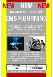 EMS×BURNING