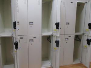 感染症対策⑨ 更衣室ロッカー