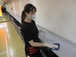 感染症対策⑩ スタジオの除菌・換気