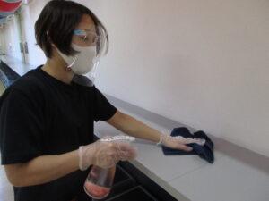 感染症対策⑥ スタジオの除菌・換気