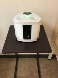 感染症対策⑱ 更衣室の空間除菌