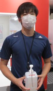 <マスク着用のお願い>