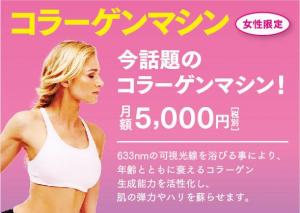 ■女性専用■ コラーゲンマシン