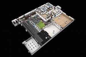 館内イメージ図