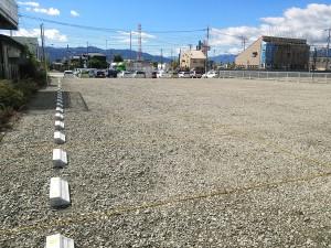 ついに完成第4駐車場