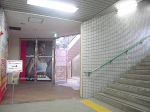地下鉄出入口4番から直結