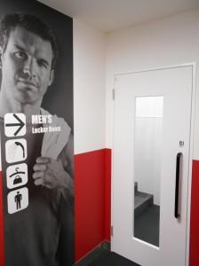 男性更衣室・シャワー室
