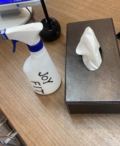 消毒液設置