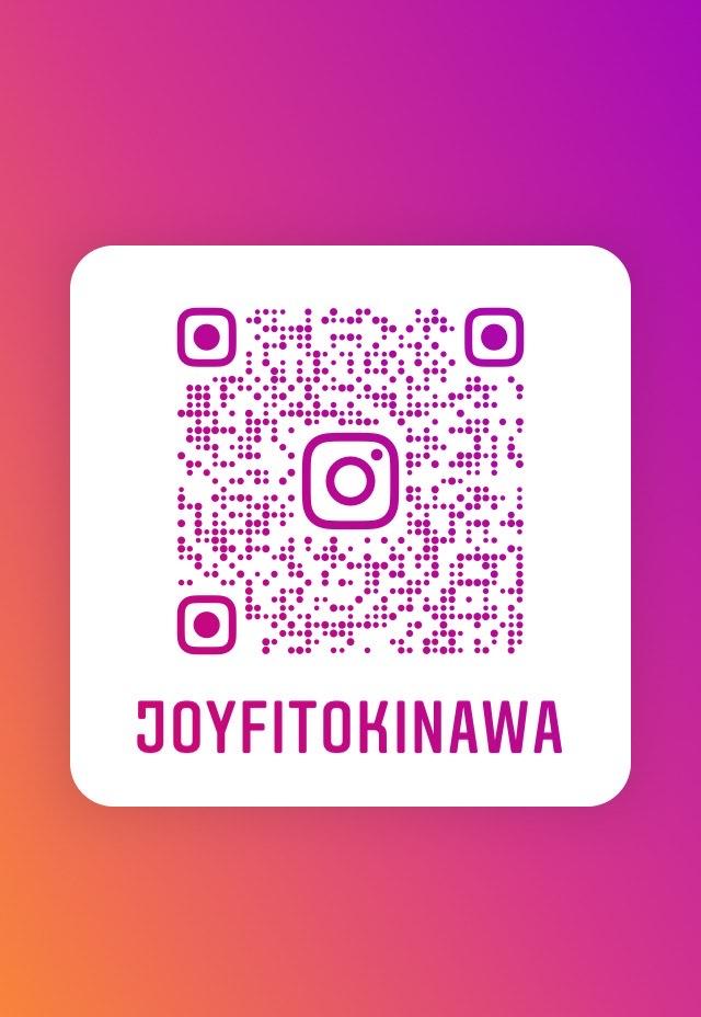 こちらのQRコードからも JOYFIT沖縄【ジョイフィット沖縄】の インスタへジャンプできます!