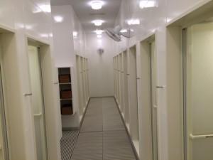 シャワールーム【男性3室、女性16室】