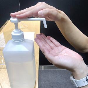 手指用消毒液(写真)