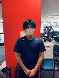 スタッフマスクの着用