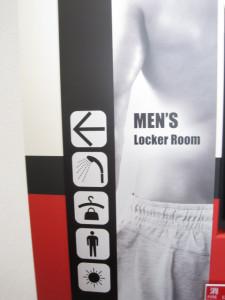 男性更衣室1階
