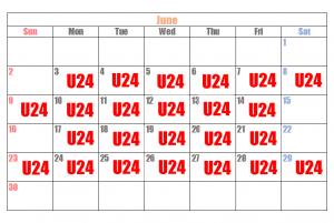 u24カレンダー