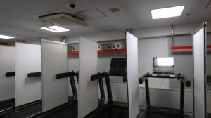 マシン間のパーテーション設置