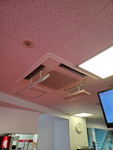 エアコン全台高性能フィルター設置