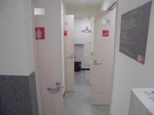 完全個室シャワールーム