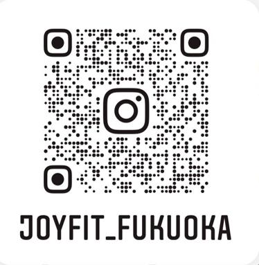 JOYFIT24福岡 Instagram お得な情報やイベント情報、 トレーニング情報を発信していきます! フォロー&応援お願い致します♪