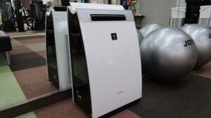 感染症対策⑫ 加湿空気清浄機の設置