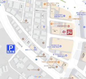 提携駐車場【案内図】