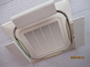 エアコン高性能フィルター設置