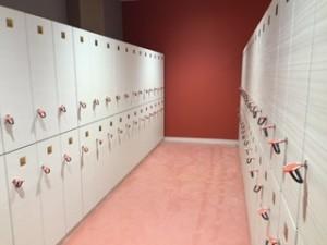 女性ロッカー 更衣室