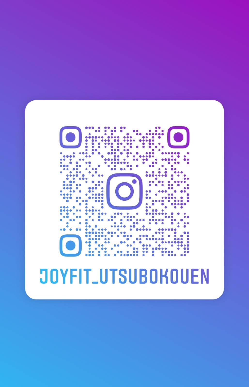 JOYFIT靭公園 公式Instagramアカウント お得な情報や館内の様子、マシンの説明など更新中! 是非フォローお願いします!